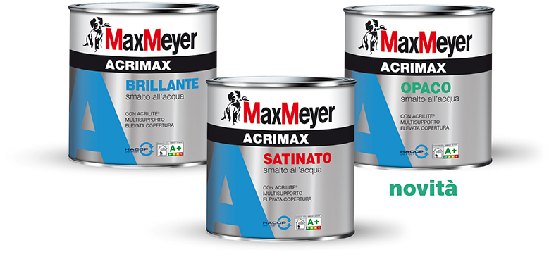 Lo smalto all'acqua ACRIMAX cambia formula!
